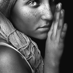 The Afghan girl