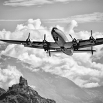 Lockheed Constellation in Sion