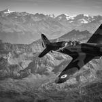 MS sur les Alpes