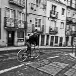 Ciclista confiante