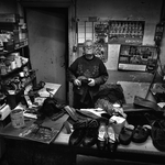The shoemaker Francesco in his laboratory