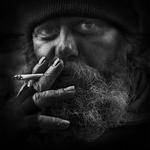 Mr. John, the street artist ..