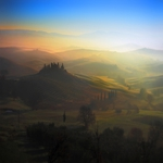 Tuscan, dream of a winter morning ..