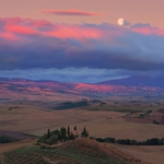 Poetry of an Tuscan sunset..
