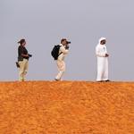 Photographers in the desert ..