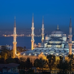 Blue Mosque in Blue Hour