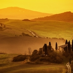 toscana golden morning