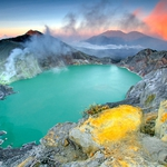 Wonderful of Ijen Crater