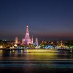 Colour of Wat Arun