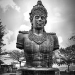 statue of the god Krishna