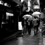 Alley of rain