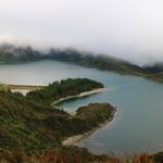 Lagoa do Fogo, São Miguel, Azores islands .