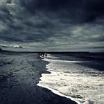 Caminhadas à beira mar_
