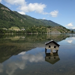 Uma casinha no lago