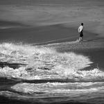O lento abandonar das ondas