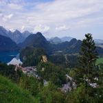 Schwangau e o Alpsee