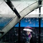 Two unbrellas