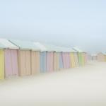 Colored huts