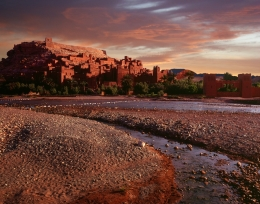 Sunrise at Ait Ben Haddou