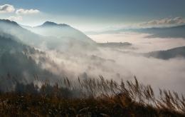 fog & monutains