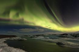 Aurora Jokulsarlon (Iceland)