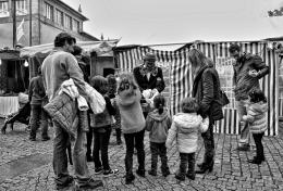Crianças na feira