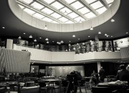 Interior de Centro Comercial.