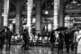 Esplanada em Paris.