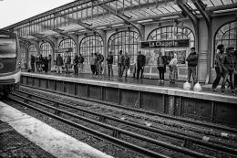 Estação La Chapelle - Paris