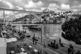 V.N.Gaia - Ponte - Cais da Ribeira.