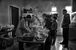 Na cozinha - Abobeleira - Chaves