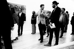 Conversa na exposição