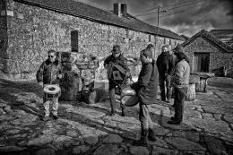 Músicos em Vilarinho Seco - Barroso