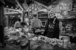 No Mercado de Natal Frankfurt_