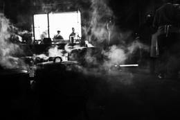 No meio do fumo