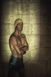 Portrait of a Swimmer
