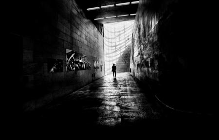 # arte luz e sombra no caminho / # !.