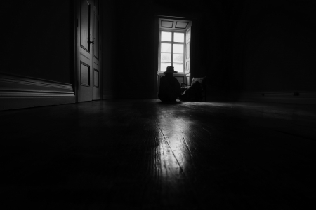 """ alone !!!"