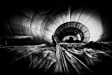 Emotions hot air balloon