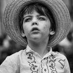 retrato com chapeu