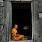 Monk from Angkor Wat