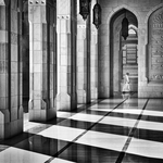 Shadows in the mosque