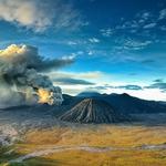 Bromo Vulcanic Eruption