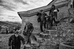Descendo as escadas