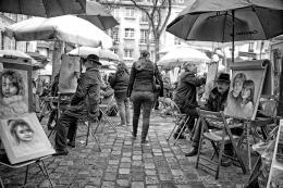 Montmartre - Paris - Pintores