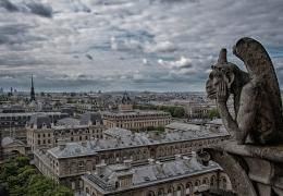 Paris visto da Notre-Dame