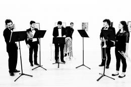Músicos no museu